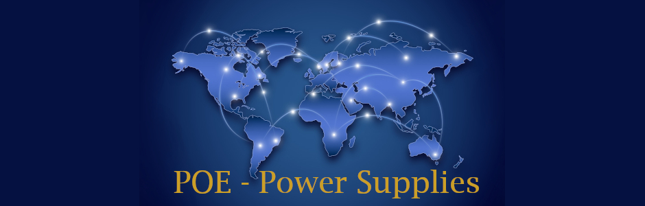 POE Power over Ethernet Power Supplies
